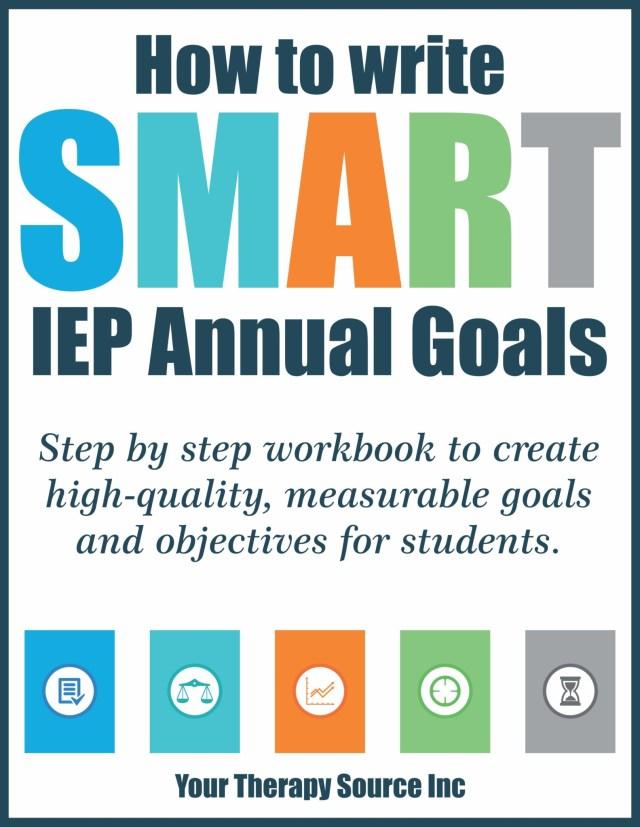 How to Write IEP Goals Workbook