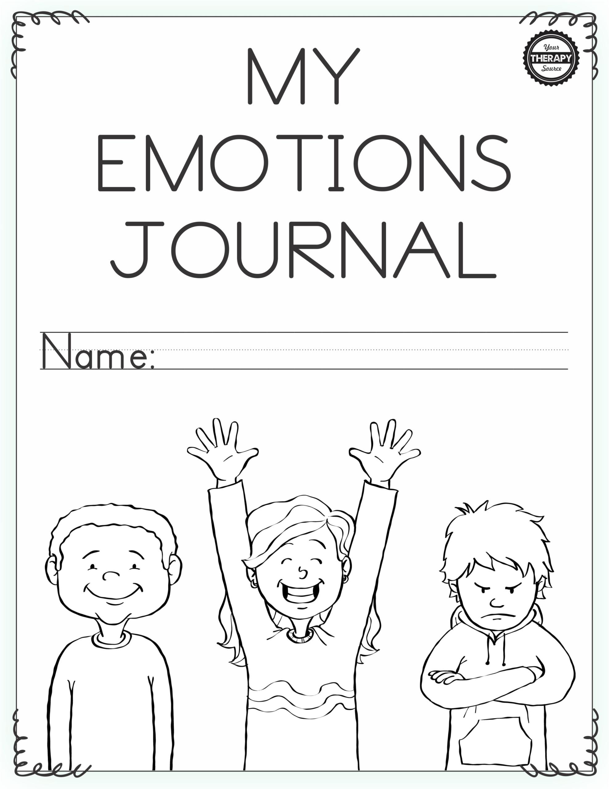 Emotional Regulation Worksheets