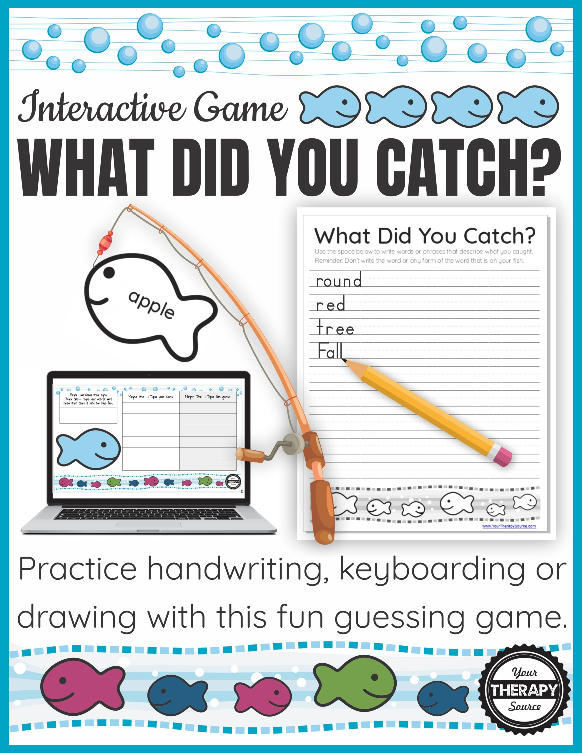 Handwriting Game For Occupational Therapy