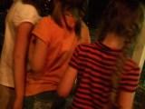 Girls Watching Cowboys