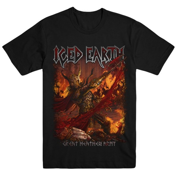 Iced Earth Official Merchandise - Great Heathen Army Tee