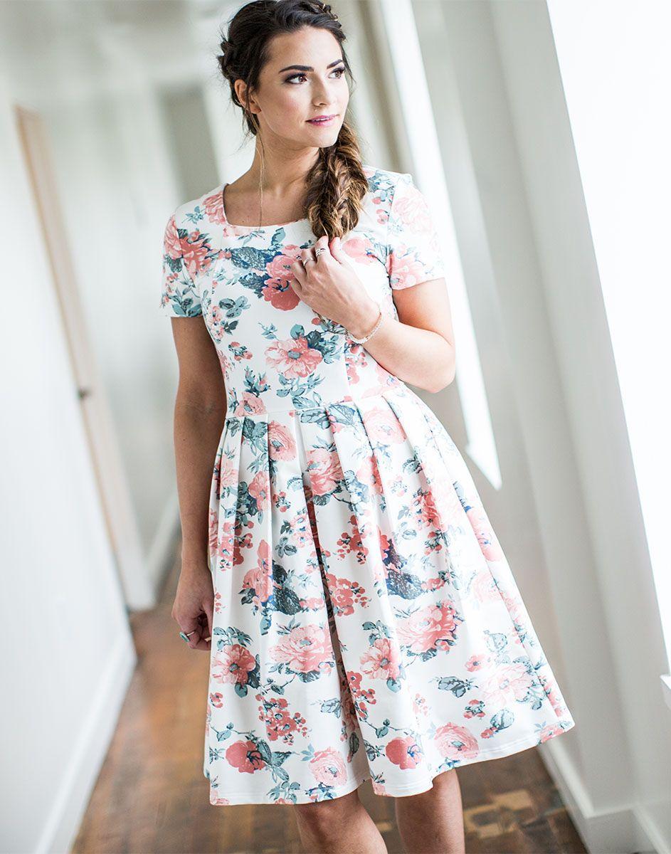 Cute Modest Summer Dress