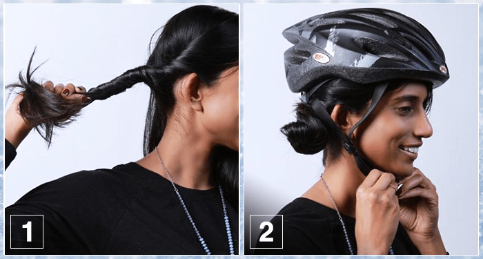 4 Gorgeous Hairstyles with Hats & Helmets