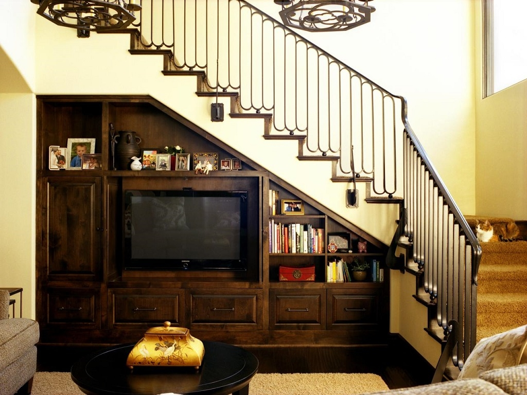 21 Genius Design Ideas For The Space Under Your Stairs | Space Under Staircase Design | Indoor | Clever | Innovative | Wooden | Understairs