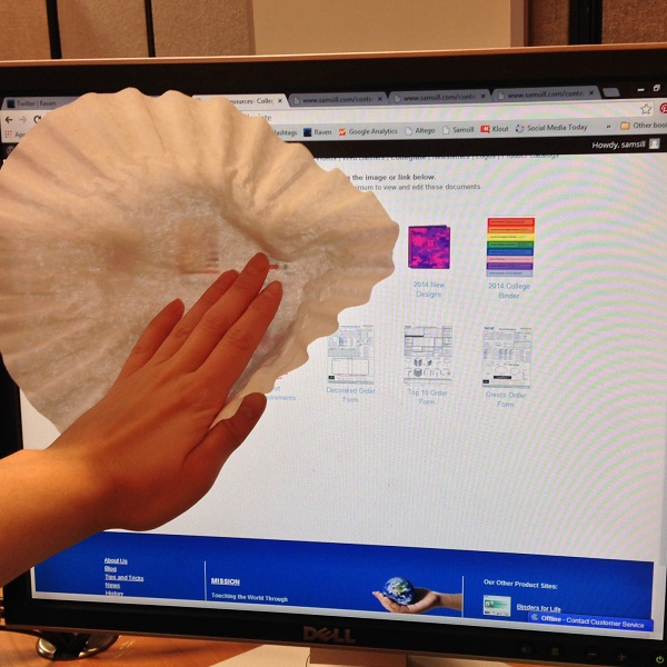 coffee filter screen cleaner