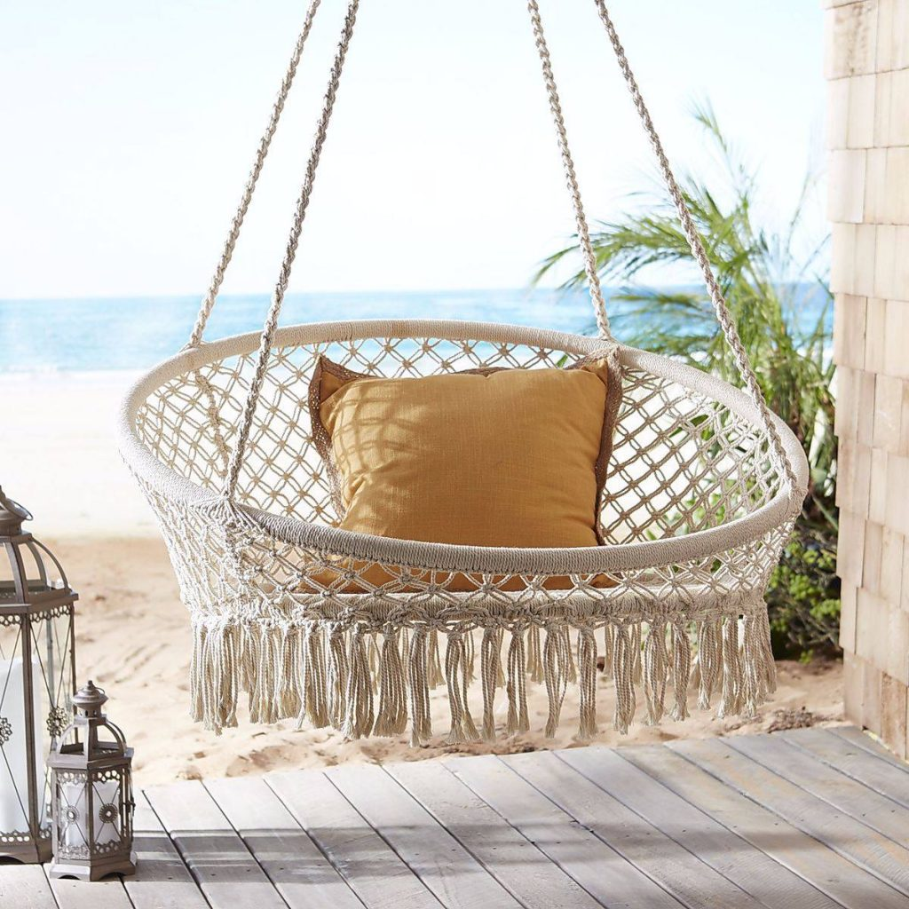 Pier 1 Swing Chair Furniture Finds 7 Swing Chairs To Bring Out Your Inner Child