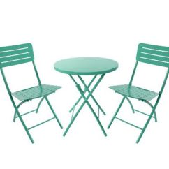 Lime Green Bistro Chairs Chair Leveling Feet Furniture Finds 7 Colorful Sets For Under 200