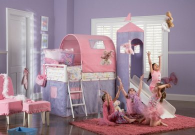 Toddler Bunk Bed With Slide