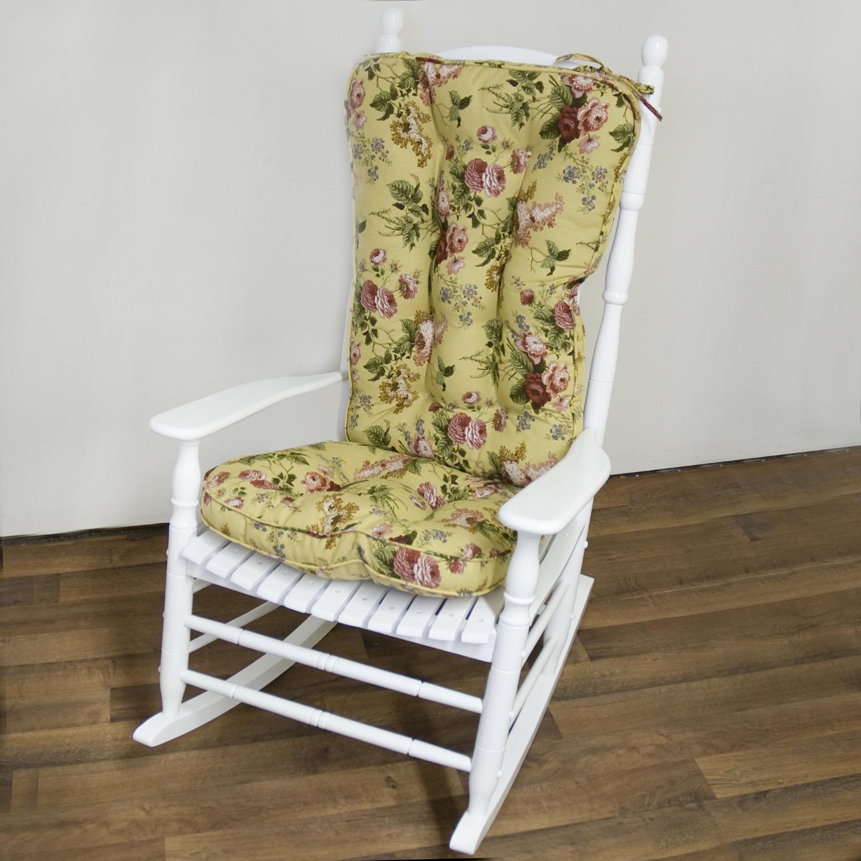 PATTERN ROCKING CHAIR CUSHION  Chair Pads  Cushions