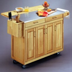 Kitchen Island Breakfast Bar Pacific Fan Home Styles Cart House Furniture
