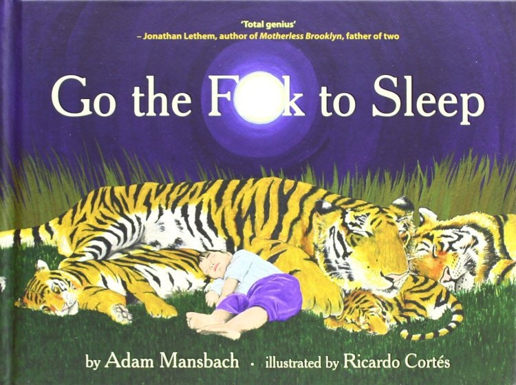 Go the F**k to Sleep | Adam Mansbach Book | In-Stock - Buy Now banned books