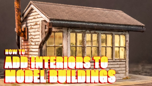 How to Add Interiors to Model Buildings