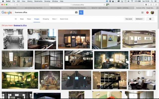 Google Image search - Workshops