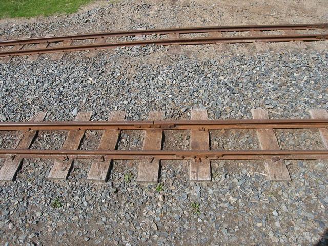 Sun Bleached Railroad Ties