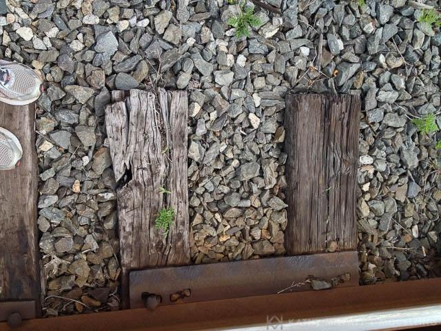 Railroad Ties, Portland,Maine