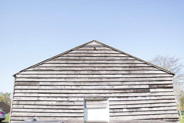 Aged Shed