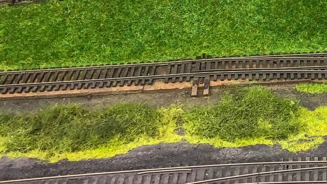 Mismatched grass
