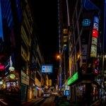 City Nights Triptych