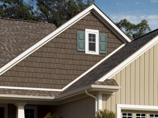 Composite Shake Shingle Siding