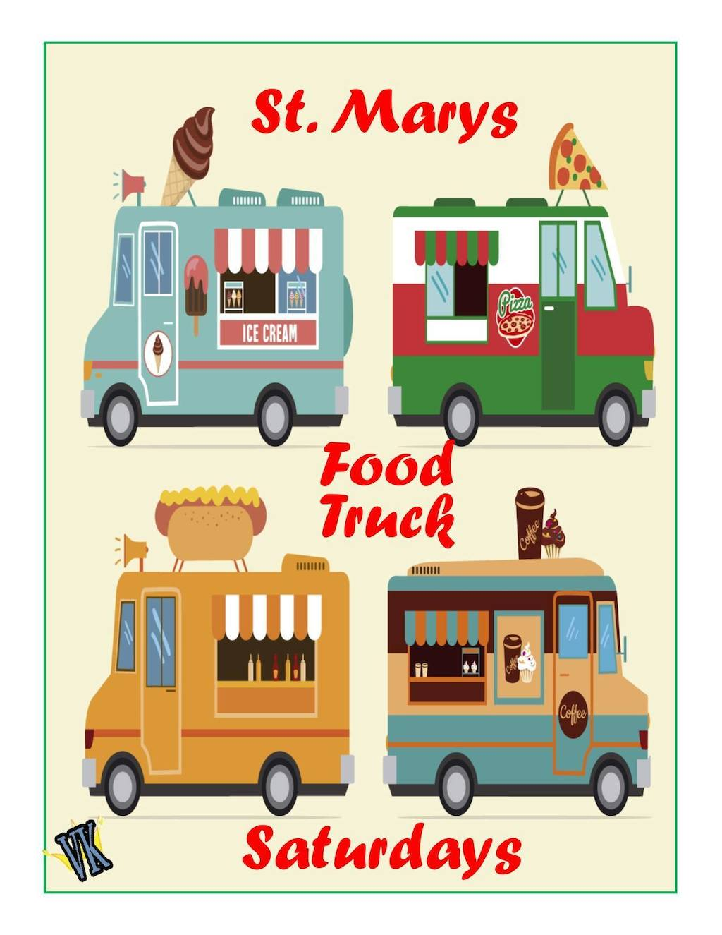 St Marys Food Truck Saturdays