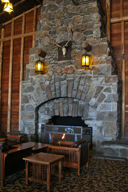 Location Map for Old Faithful Lodge Cabins