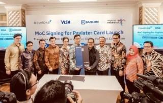 Traveloka Bank BRI Visa