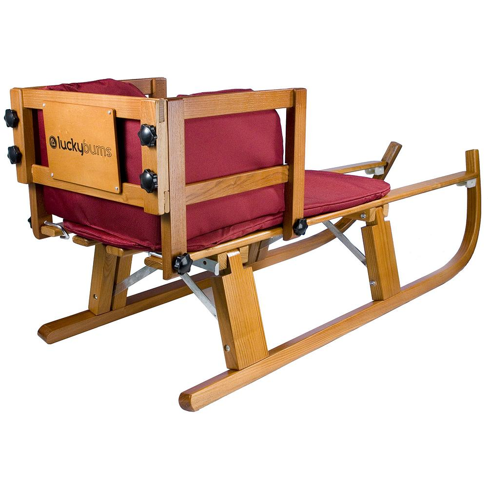Eddie Bauer luckybums Wooden Pull Sled  7999  Thrill On