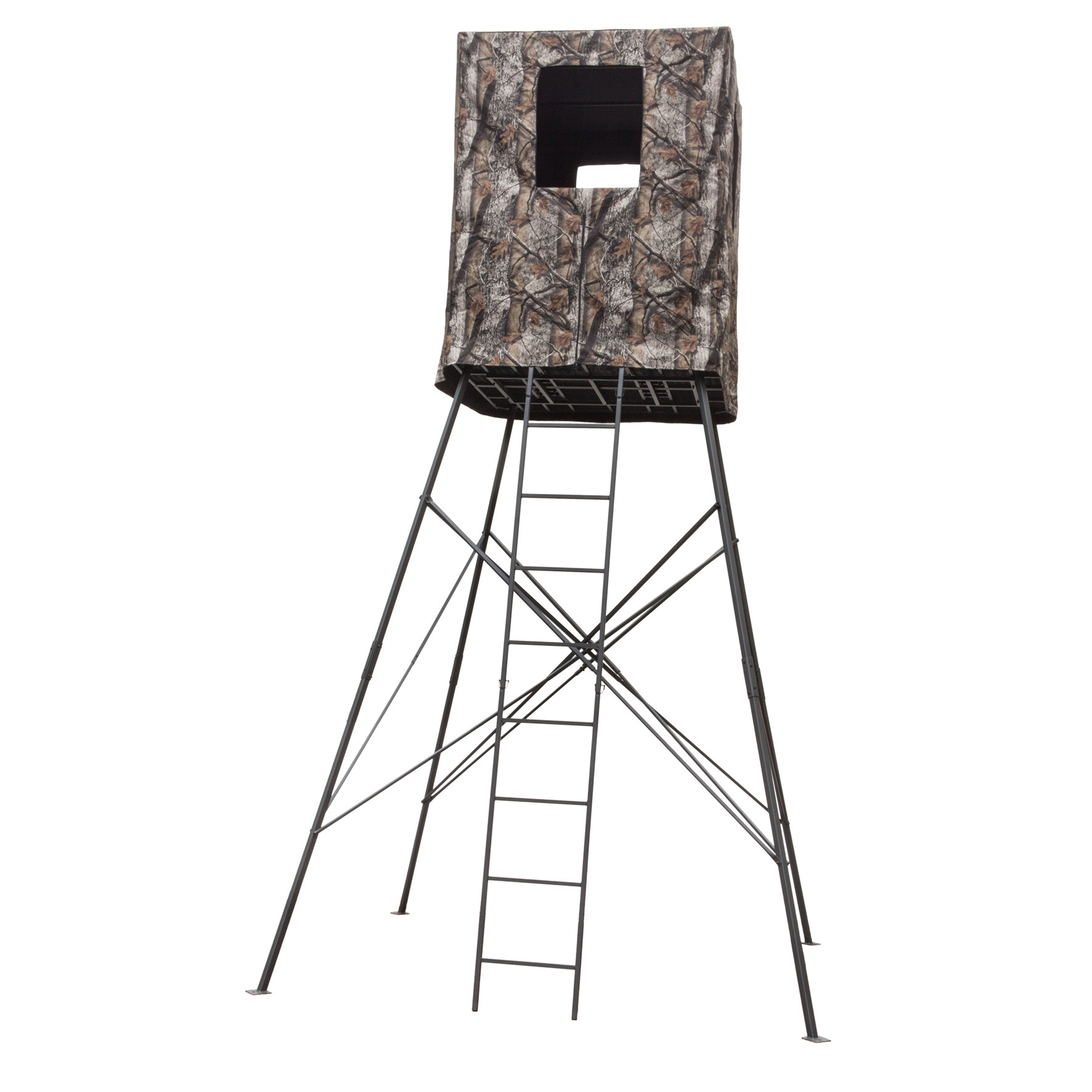 Big Dog 14' Guard Tower 2-person Quad Pod Deer Stand with