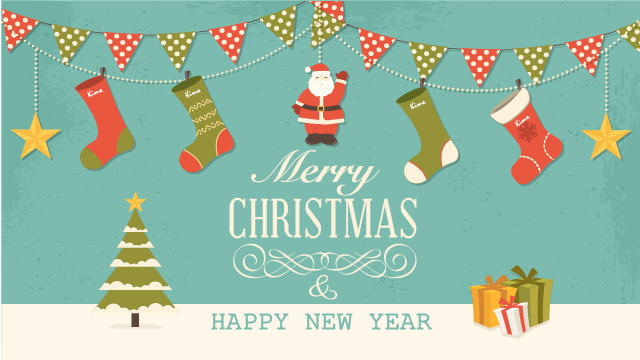 聖誕繽紛桌布下載 - Kimo 德國品牌健康鞋