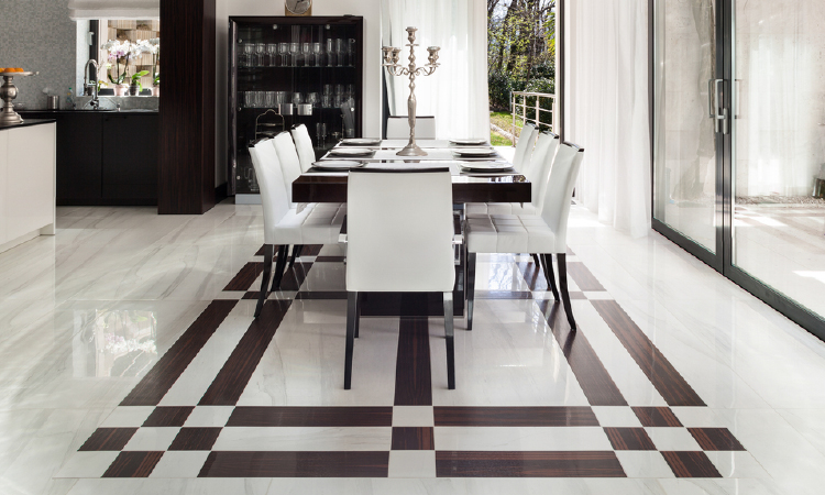 vitrified floor tiles design for living room black and white chairs 12 marble designs styling every home