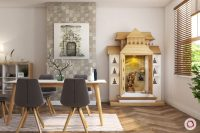 Traditional Wooden Pooja Room Designs for Your Home
