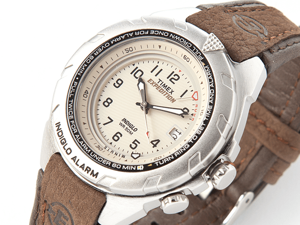 timex expedition easy set