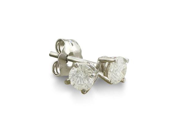 .15 Carat Diamond 14K Stud Earrings
