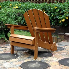 Merry Garden Adirondack Chair Ergonomic Esthetician Faux Wood With Ottoman Products