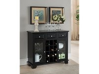 Kings Brand Furniture Buffet Server Sideboard Cabinet with ...