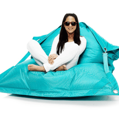 Football Bean Bag Chair Lift Chairs Covered By Medicare Fatboy Giant Size Buggle Up - Turquoise