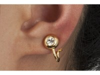 Kai Tak Acupressure Weight Loss Magnetic Earring - Fashion