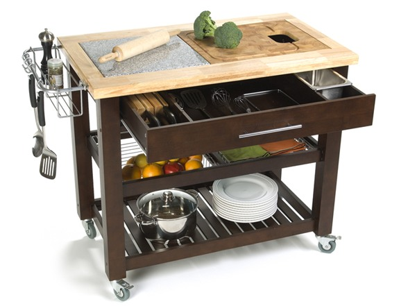 kitchen prep station grey rugs pro chef 23 75x40 5 food