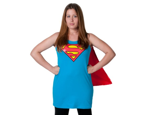 supergirl sleep tank with