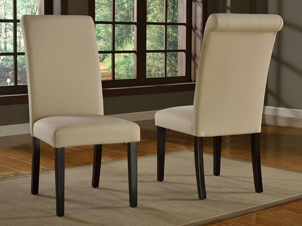 dining room chair covers set of 6 cover hire chesterfield regent slipcover parsons 2