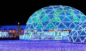 Lagunasia of LAGUNA TEN BOSCH in Aichi, mapping projection and the illumination are must-sees