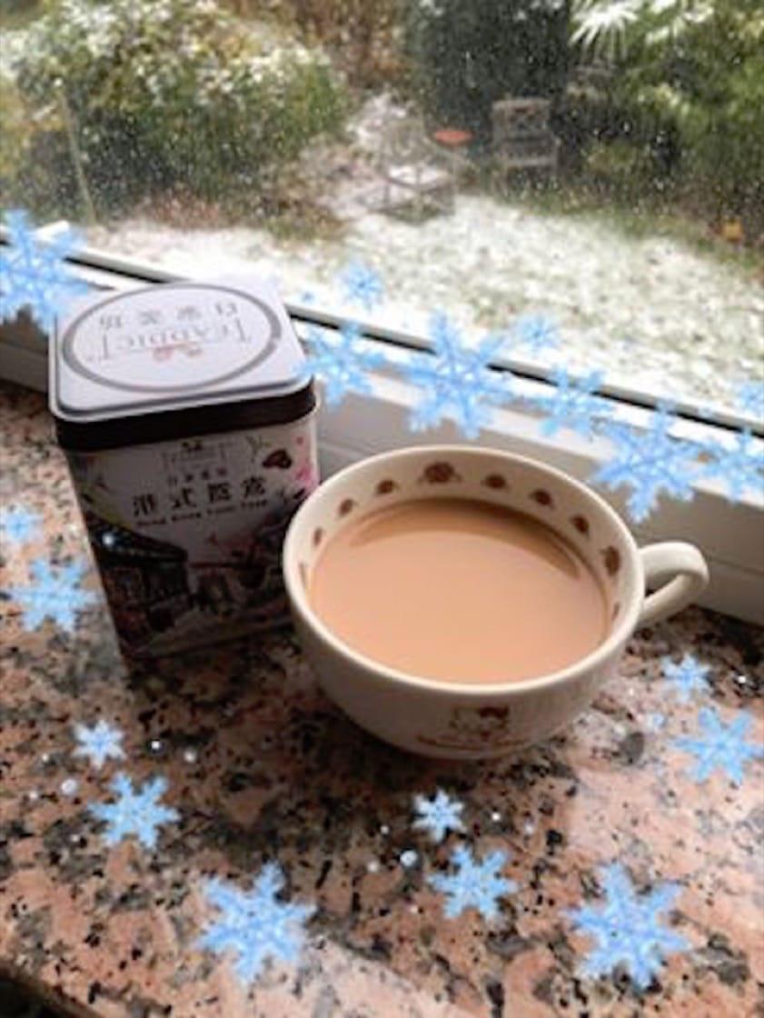 喝一口港式奶茶