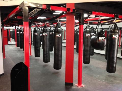 fitness training gym in