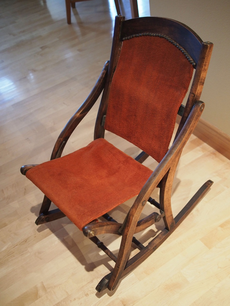 folding rocking chair wood table chairs argos later 1800 s collectors weekly