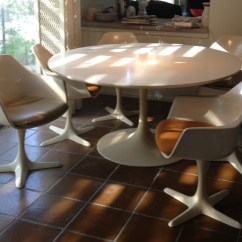 Tulip Table And Chairs Pink Desk Chair Australia Burke 60 7 116 Collectors Weekly