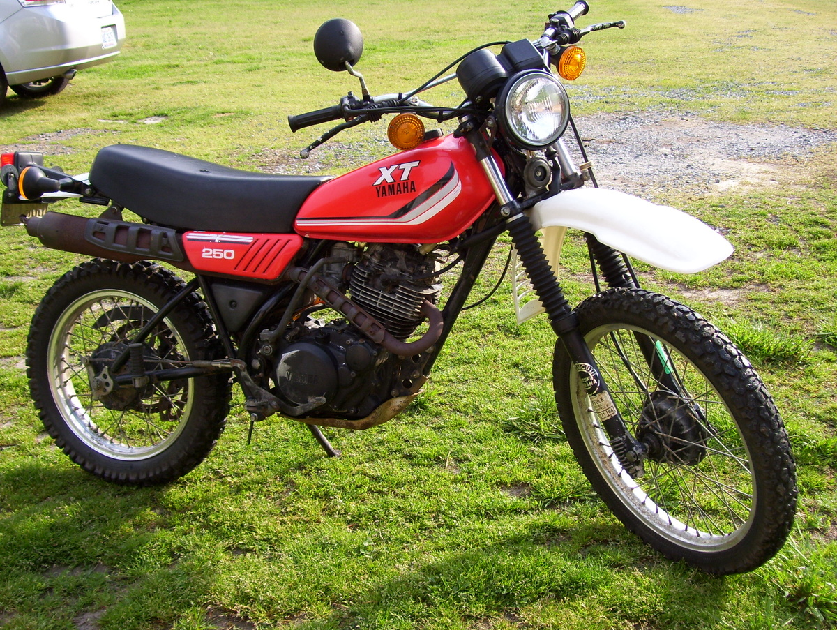 1981 yamaha xt250 wiring diagram netball court measurement or 1982 xt 250 collectors weekly