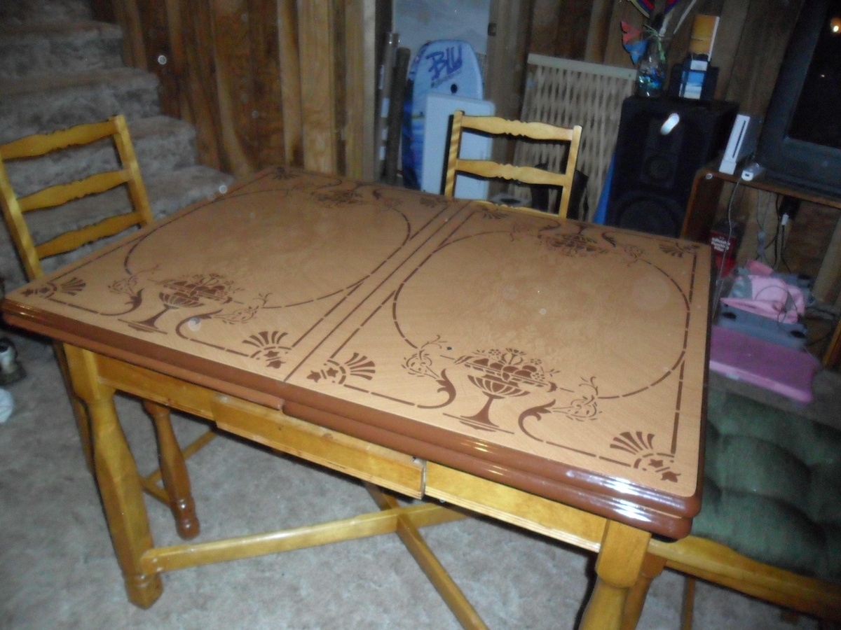 metal kitchen tables refacers vintage top table collectors weekly
