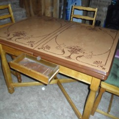 Vintage Kitchen Table Metal Top Collectors Weekly
