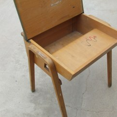 Wooden School Chairs White Lounge Chair Covers Great Old Desk Complete With Graffiti
