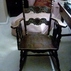 Rocking Chair Antique Styles Kids Camo And Vintage Chairs Collectors Weekly